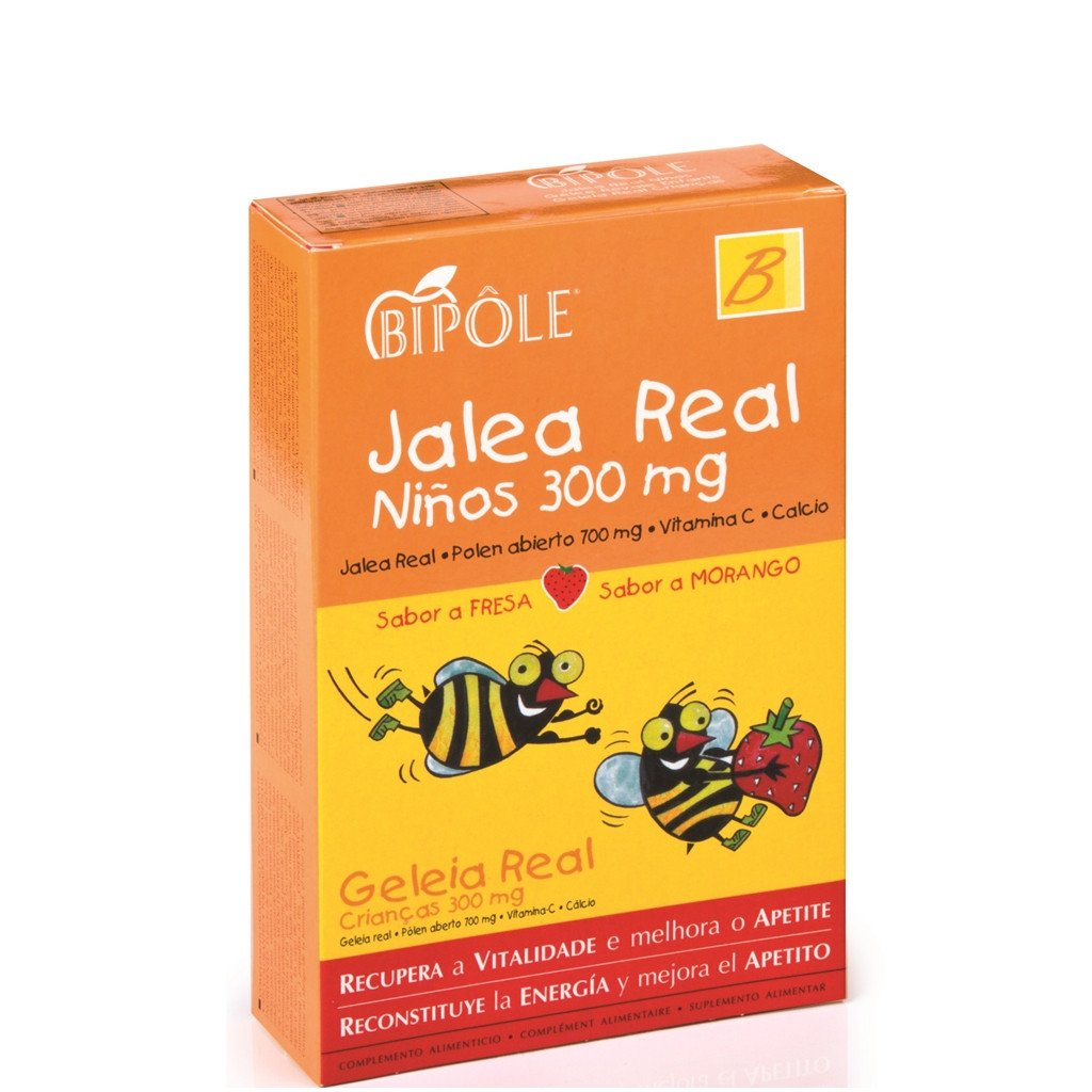 JALEA REAL FRESCA INFANTIL 300MG 20AMPOLLAS INTERSA