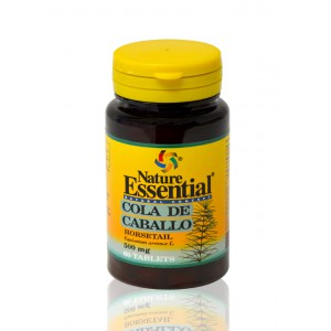 COLA CABALLO 500MG 60TAB NATURE ESSENTIAL