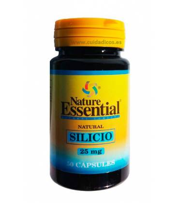 SILICIO 25MG 50CAP NATURE ESENTIAL