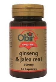 GINSENG & JALEA REAL 600MG 50CAP NATURE ESSENTIAL