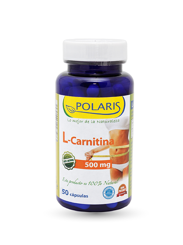 L CARNITINA 500MG 100C POLARIS
