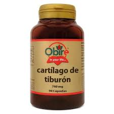 CARTILAGO TIBURON 740MG 90CAP OBIRE