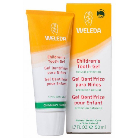 GEL DENTIFRICO NIÑOS 50ML WELEDA