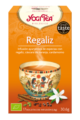 YOGI TEA REGALIZ LICORISE 17FILTROS