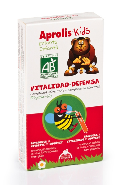 APROLIS KIDS VITALIDAD DEFENSA 10VIALES INTERSA