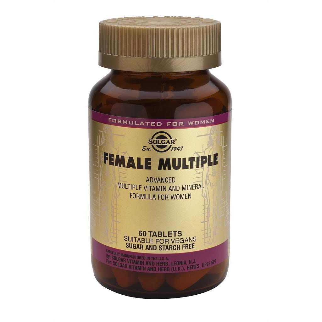 FEMALE MULTIPLE (MUJER) 60COMP SOLGAR