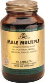 MALE MULTIPLE(HOMBRE) 60COMP SOLGAR