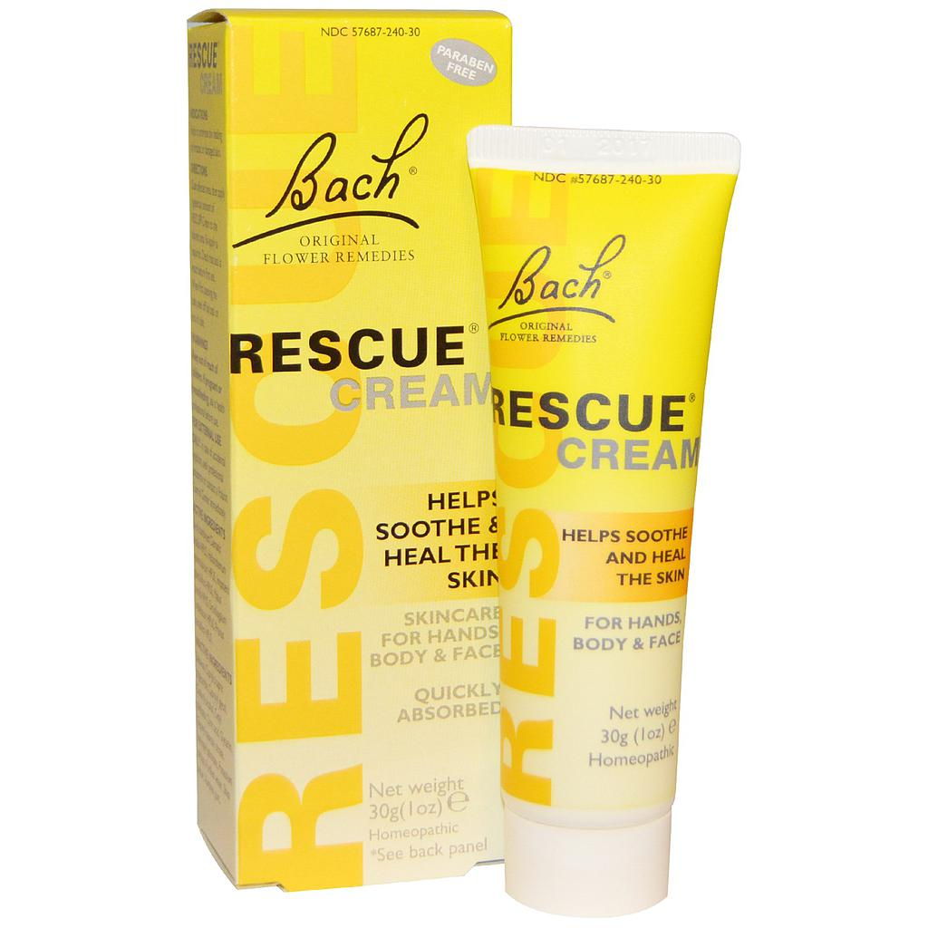 RESCUE REMEDY CREMA 30ML BACH