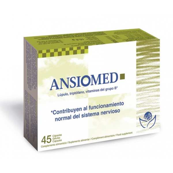 ANSIOMED BIOSERUM 45CAPS