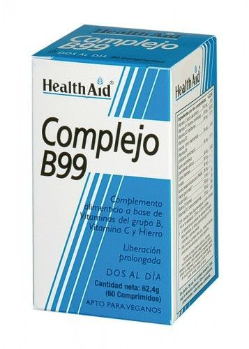 COMPLEJO B99 60COMP HEALTH AID
