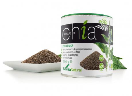 SEMILLAS CHIA 250GR SORIA NATURAL