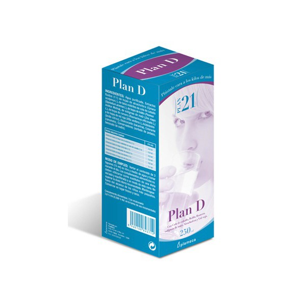 PLAN D DRENANTE 250ML PLA