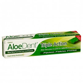 DENTIFRICO TRIPLE ACCION 100ML ALOEDENT