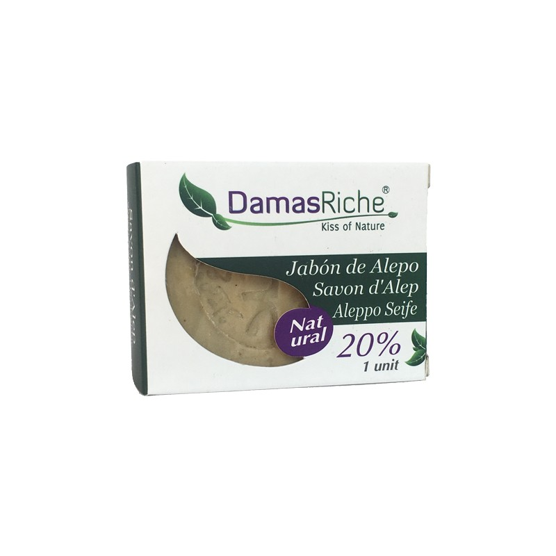 JABON ALEPO ECO 20% LAUREL DAMAS RICHE
