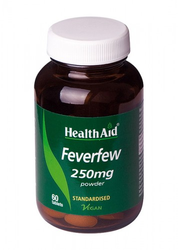MATRICARIA FEVERFEW 60COMP HEALTH AID