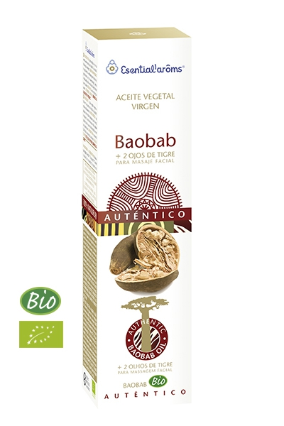 ACEITE VEGETAL BAOBAB BIO 50ML ESENTIAL AROMS INTERSA