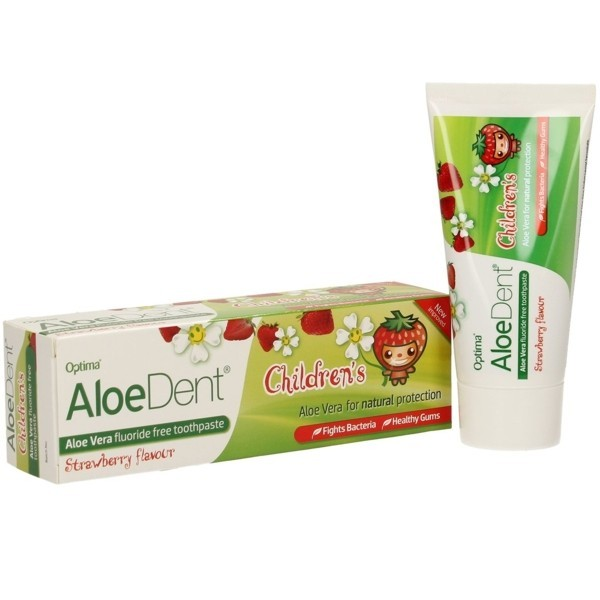 DENTIFRICO ALOEDENT ALOE VERA NIÑO 50ML OPTIMA