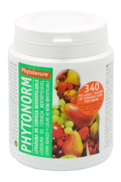 PHYTONORM 160CAP LEVADURA CERVEZA REVIVIFICABLE  INTERSA