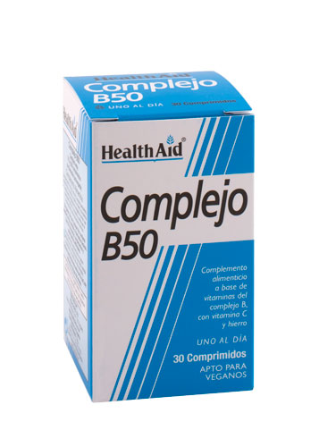 COMPLEJO B50 30COMP HEALTH AID