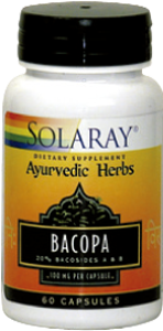 BACOPA 100MG 60CAP SOLARAY