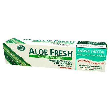 ALOE FRESH RETARD GEL MENTA CRISTAL 100ML ESI