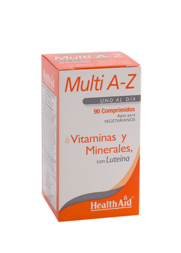 MULTI A-Z LUTEINA 90COMP HEALTH AID