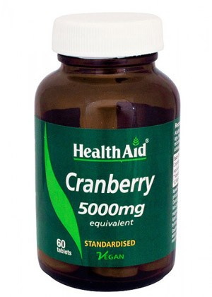 CRANBERRY 5000MG 60COMP HEALTH AID