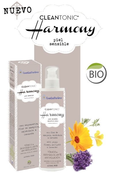CLEANTONIC HARMONY PIEL SENSIBLE 50ML INTERSA