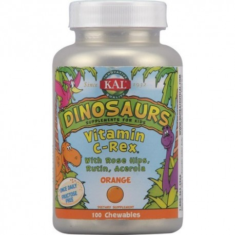 VITAMINA C REX MASTICABLE 100COMP KAL