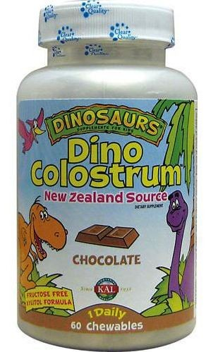 DINO COLOSTRUM CHOCOLATE  60COMP KAL