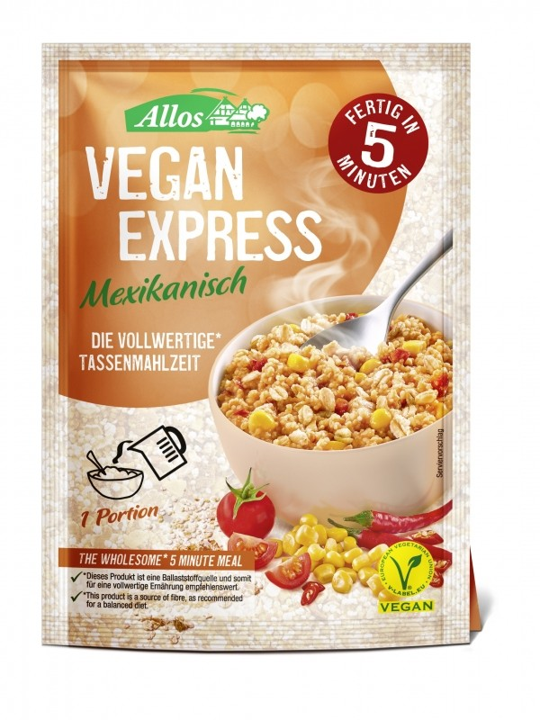 VEGAN EXPRESS MEXICAN 65G