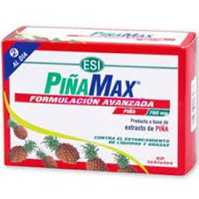 PIÑA MAX 760 MG 60 COMP E