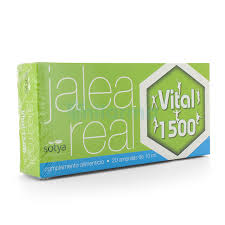 JALEA REAL VITAL 1500 20 AMPOLLAS 10ML SOTYA
