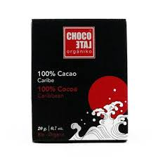 CHOCOLATE 100% PASTA CACAO 20GR
