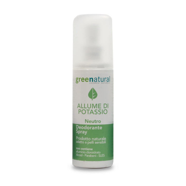 DESODORANTE SPRAY NEUTRO 100ML GREEN NATURAL