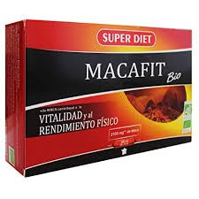 MACAFIT BIO 20 AMPOLLAS 15ML SUPER DIET