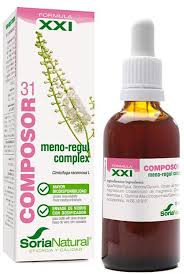 COMPOSOR 31 MENO REGUL COMPLEX SIGLO XXI 50ML SORIA NATURAL