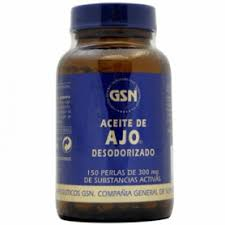 ACEITE AJO 150PERL 460MG GSN