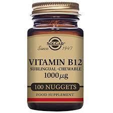 VITAMINA B12 SUBLINGUAL  1000MCG 100COMP SOLGAR