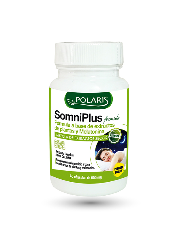 SOMNIPLUS 600MG 60CAP POLARIS