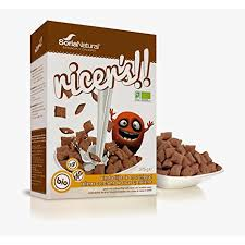 ALMOHADILLAS ARROZ INTEGRAL RELLENAS CACAO CHOCO RICE SORIA NATURAL