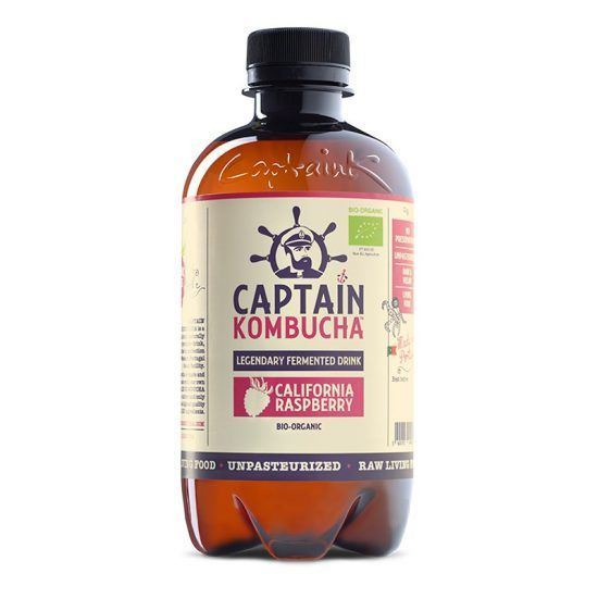KOMBUCHA CALIFORNIA RASPBERRY 400ML CAPTAIN