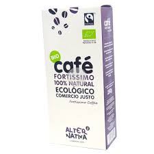 CAFE FORTISSIMO 100% NATURAL ECO 250GR  COMERCIO JUSTO ALTERNATIVA 3