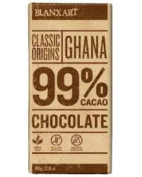 CHOCOLATE CACAO 99% BLANXART