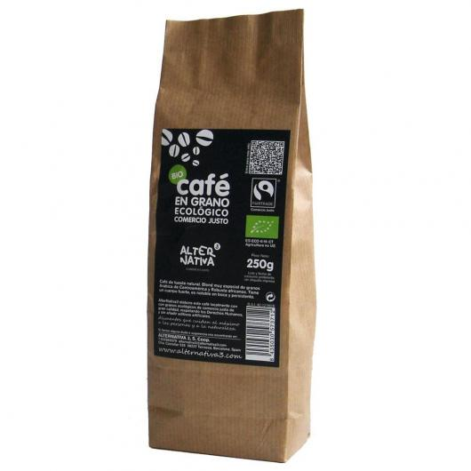 CAFE GRANO ECO COMERCIO JUSTO 250GR ALTERNATIVA