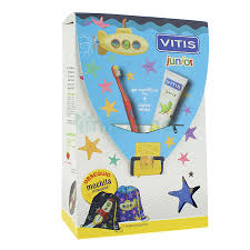 GEL DENTIFRICO + CEPILLO DENTAL JUNIOR VITIS