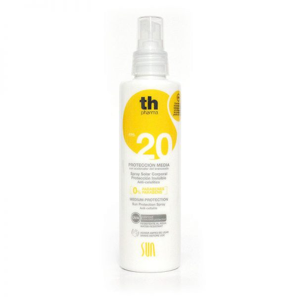 PROTECCION SOLAR MEDIA +20 SPRAY 200ML TH PHARMA