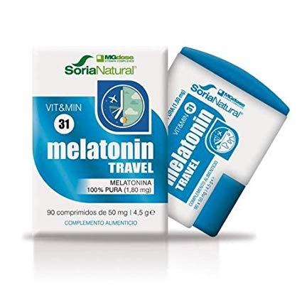 MELATONIN TRAVEL 1.8MG 90COMP SORIA NATURAL