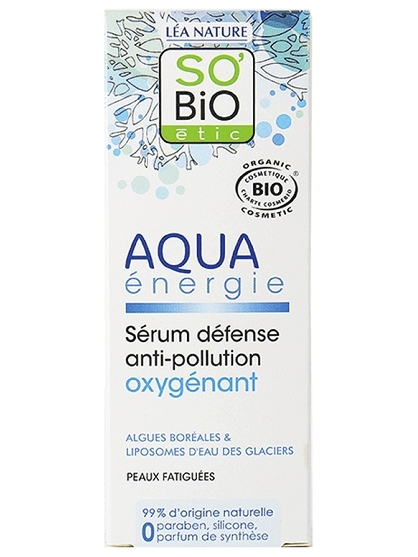AQUA ENERGIE SERUM OXIGENANTE 30ML SO BIO ETIC