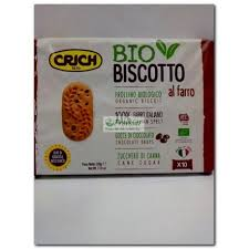 BISCOTTO ESPELTA CHOCOLATE ECO 220GR CRICH